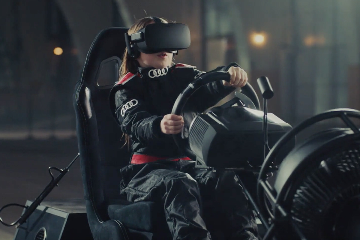 【體驗】在沙堆裡飆車,VR實現兒時夢想