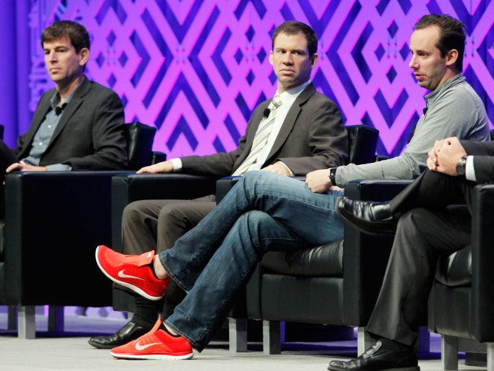 MCE_2016_-_Josh_Switkes,_Sean_Waters_and_Anthony_Levandowski