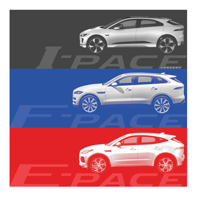 【新事】跑車型 SUV 新成員, Jaguar E-Pace 預告13日全球首演