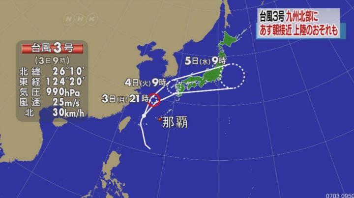 颱風路線圖範例一