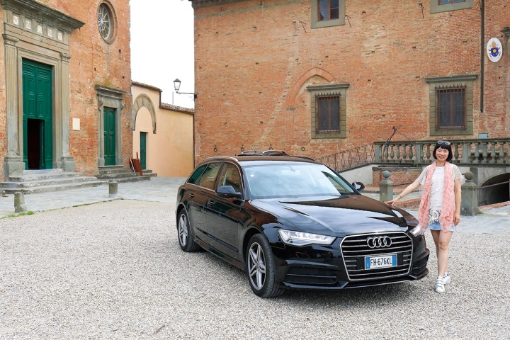 02_在義大利自助旅行開車是最方便的方式,尤其是在托斯卡尼的鄉間山城。