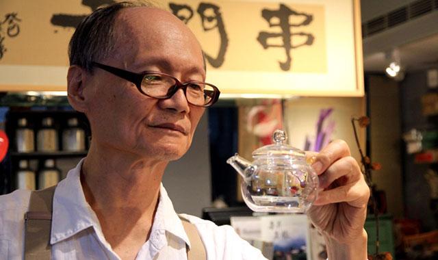 03設計師出身的沈僥宜,尋覓雅屋一間開起串門子茶館,希望旅人透過環境、器皿沉澱身心靈。