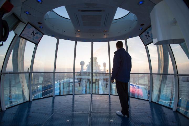 Quantum of the Seas, launch photos.