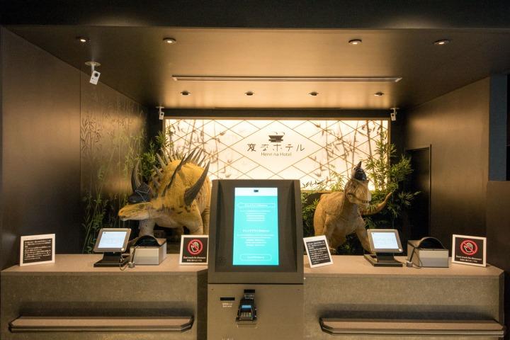 02.新開幕的西葛西分店也有兩隻完全不同的「服務生」等你來。